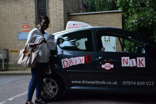 Driving lessons New Southgate Abi passed her practical driving test first time
