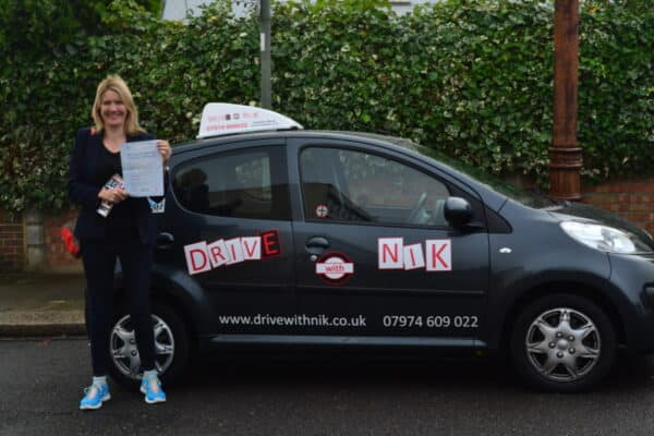 Driving lessons Muswell Hill Imogen passed her practical driving test