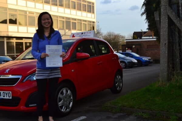 Driving lessons New Southgate Li-Sa passed her practical driving test with Drive with Nik