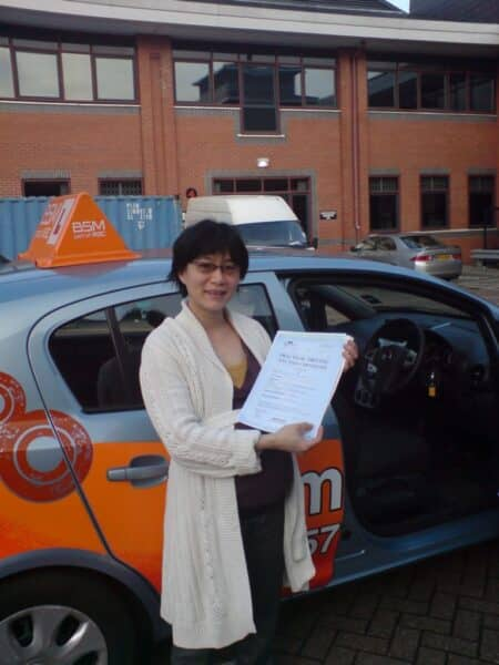 dany passed first time