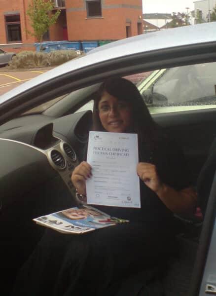 Rahnak passed her test