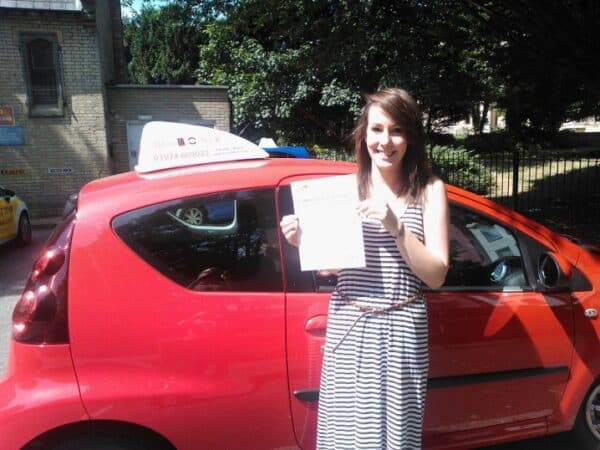 Automatic Driving lessons Palmers Green Laura passed first time