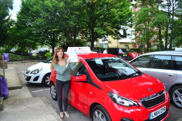 Joanna passed her automatic practical driving test first time with Drive with Nik