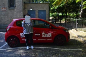 Automatic Driving Lessons Southgate. Mareya passed first time with Drive with Nik.
