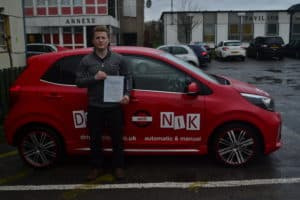 Driving Lessons Southgate. Zoltan passed his driving test first time with Drive with Nik.