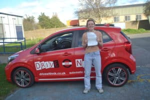 Driving Lessons Bounds Green. Ivy passed first time with Drive with Nik.