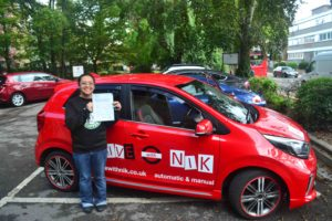 Driving Lessons Edmonton. Marie passed her test with Drive with Nik.